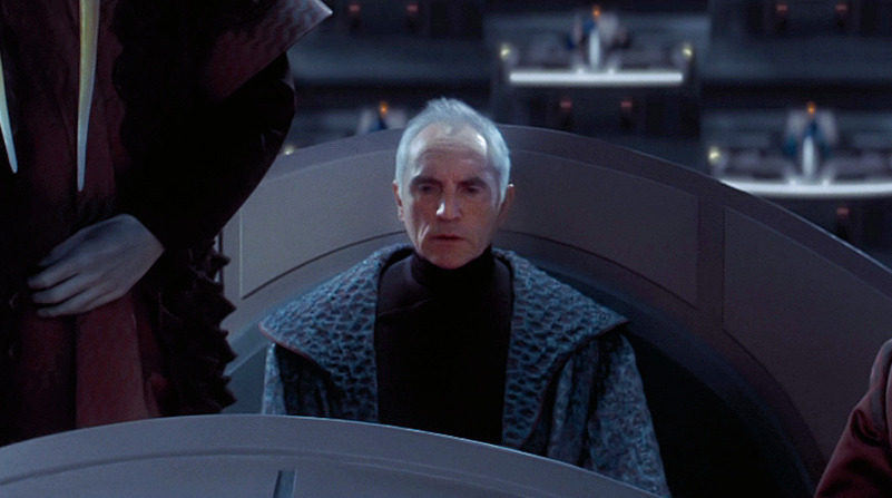 Supreme Chancellor Valorum, best Star Wars characters