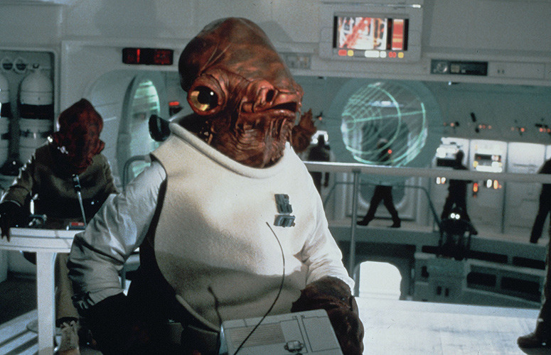 Admiral Ackbar, best Star Wars characters