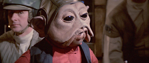 Nien Nunb, best Star Wars characters
