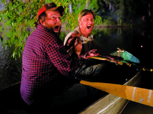 Tyler Labine and Alan Tudyk in Tucker & Dale vs. Evil