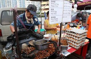Bandar Baru Sentul night market