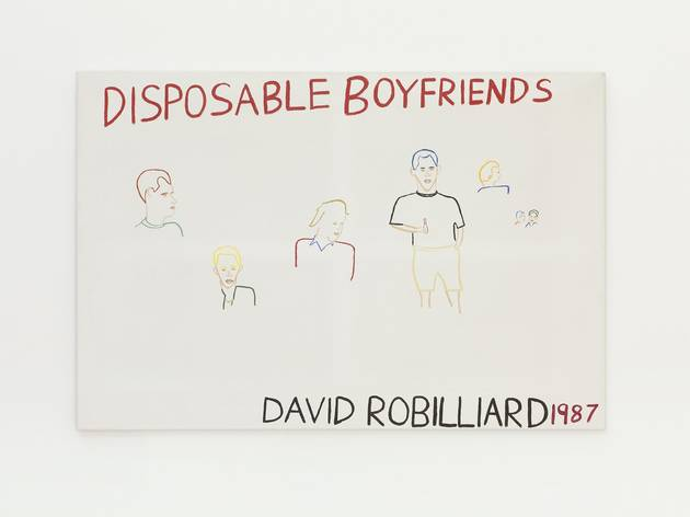 David Robilliard ('Disposable Boyfriends', 1987)