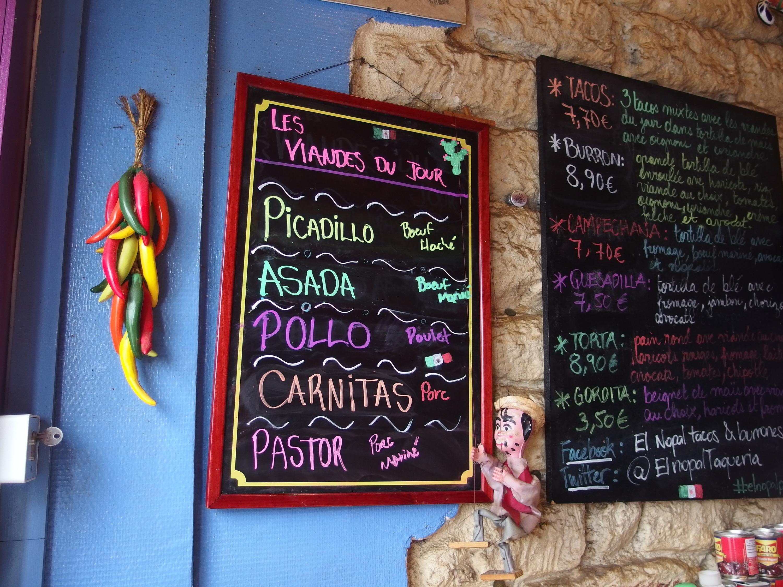 Portrait d'un restaurateur mexicain