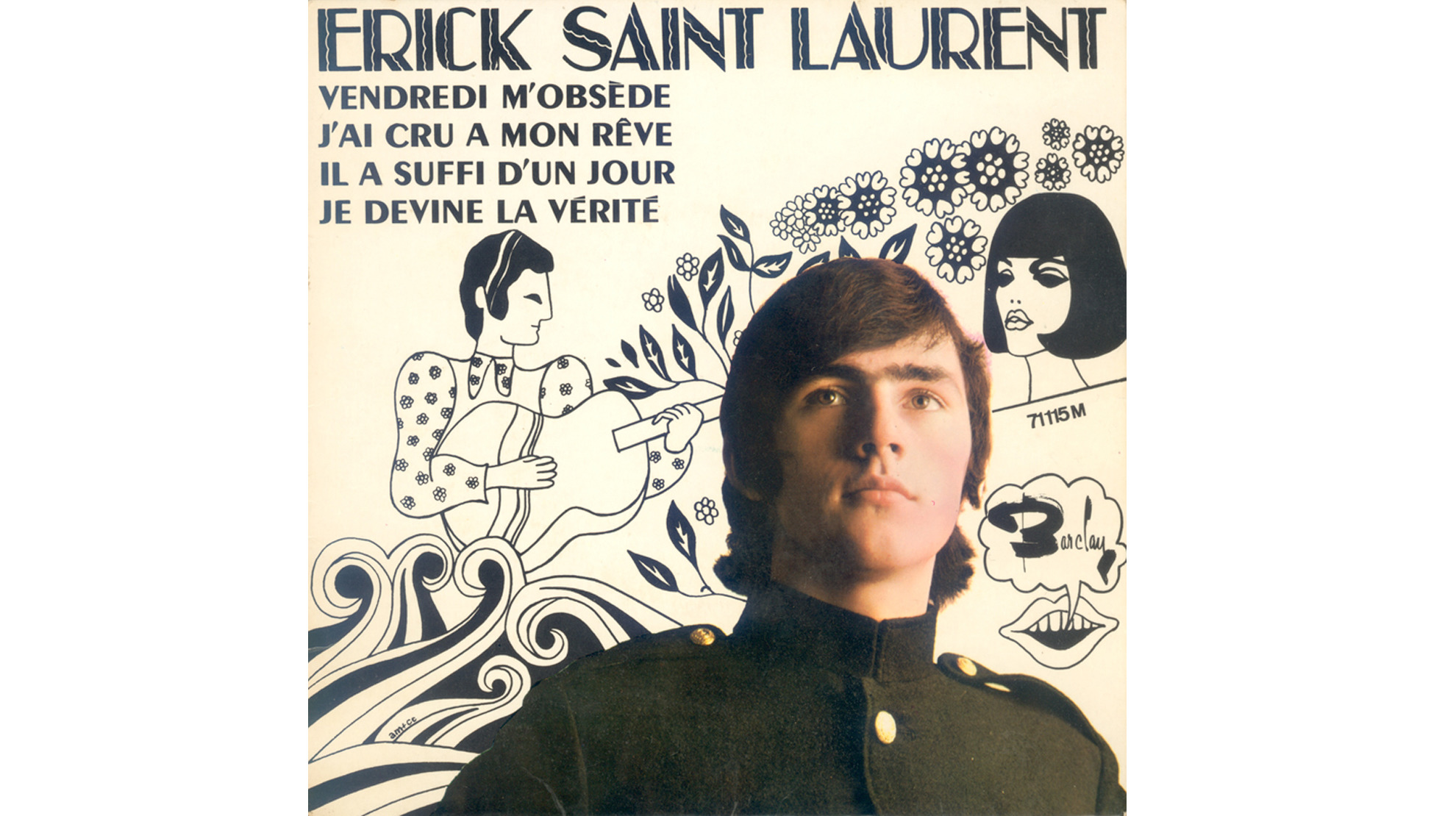 Erick Saint Laurent • 45 tours (1967)