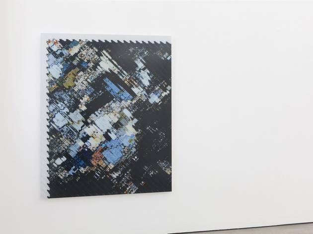 Tauba Auerbach ('The New Ambidextrous Universe III', 2014)