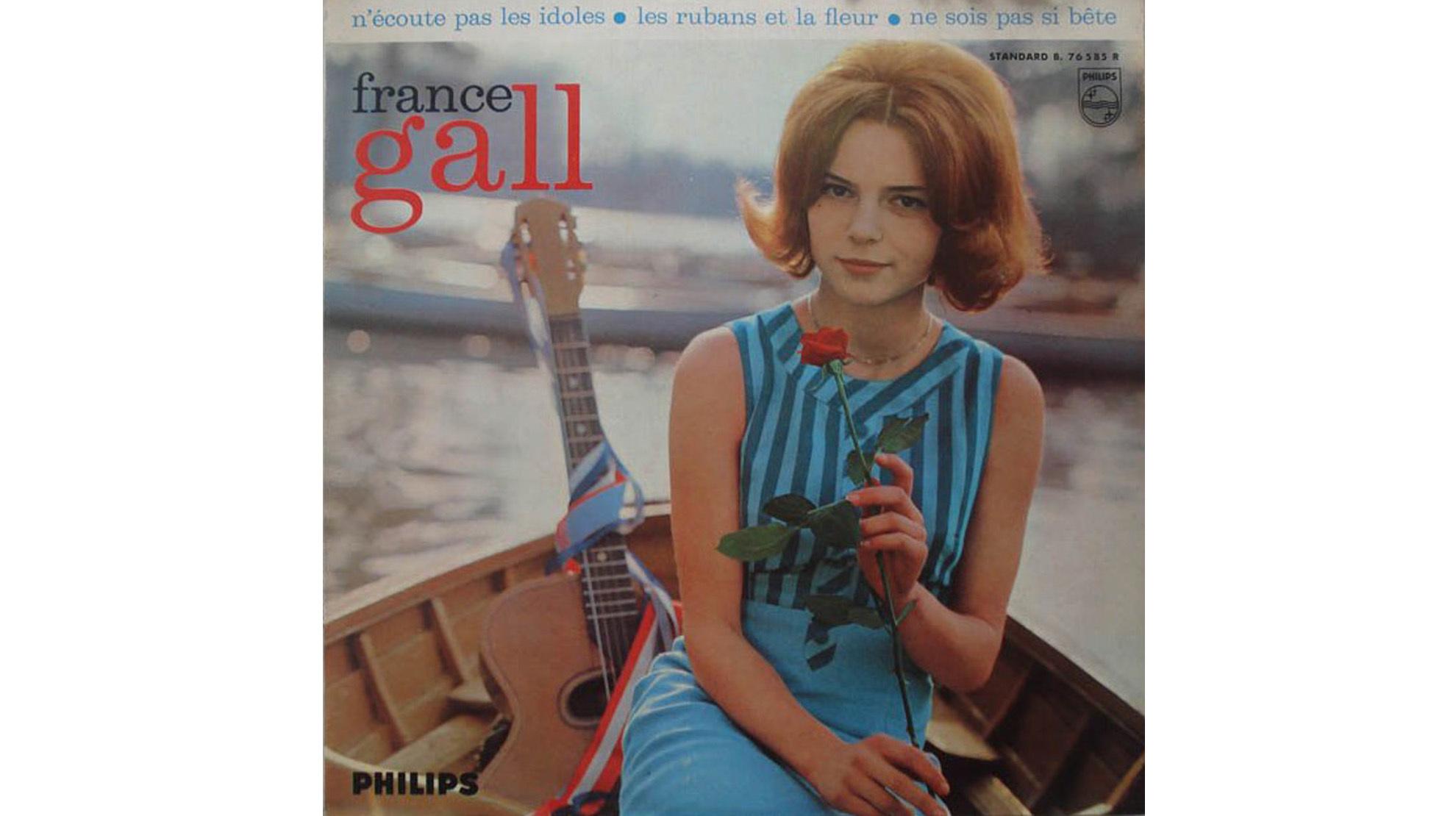 Pochette France Gall dossier
