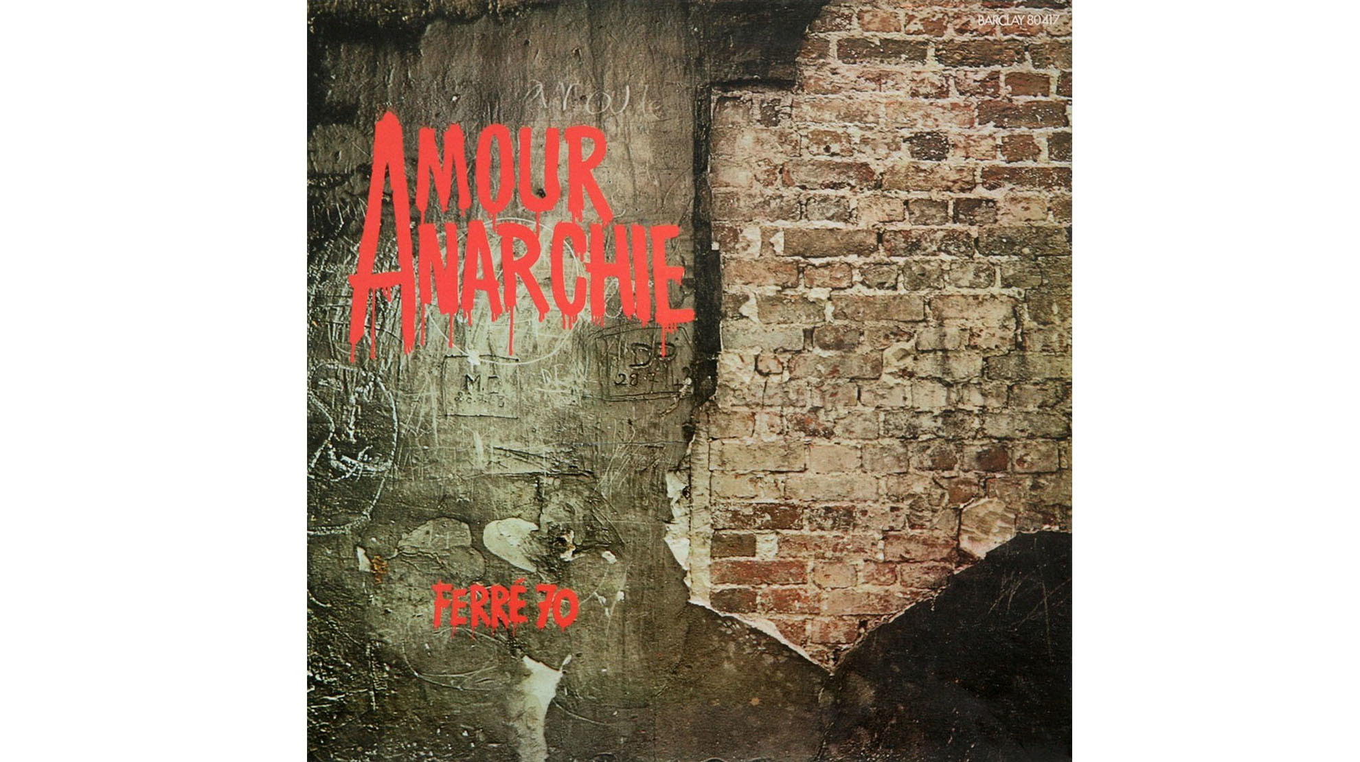 Léo Ferré • Amour Anarchie (1970)
