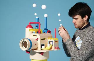 (Kyle Bean, 'Motion Factory' / / Courtesy de l'artiste & La Gaîté lyrique, Paris)
