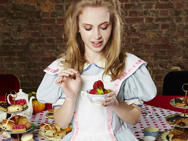 Alice in Wonderland Pop-Up Restaurant Experience