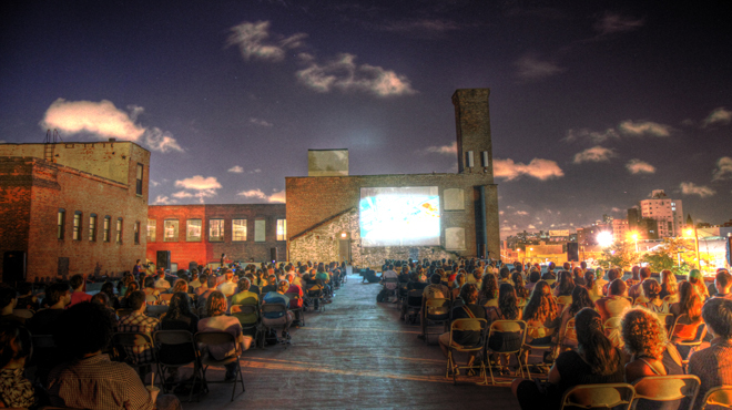 For the movie buff: Rooftop Films