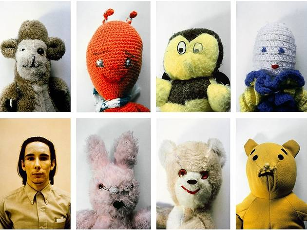"Mike Kelley, ""Ah...Youth!"", 1991, set of 8 Cibachrome photographs, 24 by 20 in. each; one at 24 x 18 in."