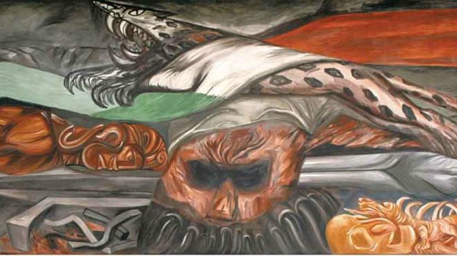 Riquezas nacionales, de José Clemente Orozco