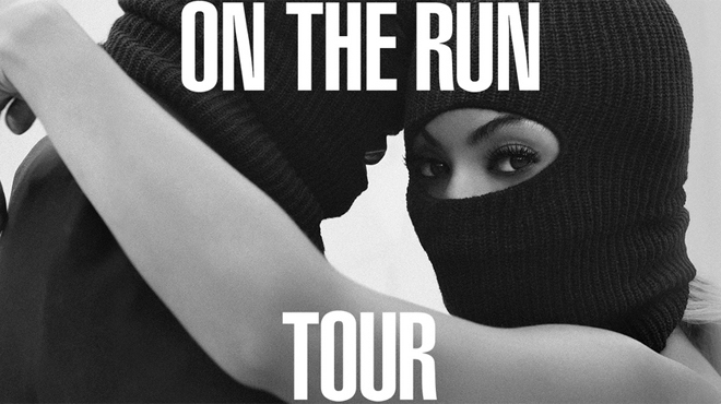 Beyoncé and Jay Z team up for the On the Run Tour.