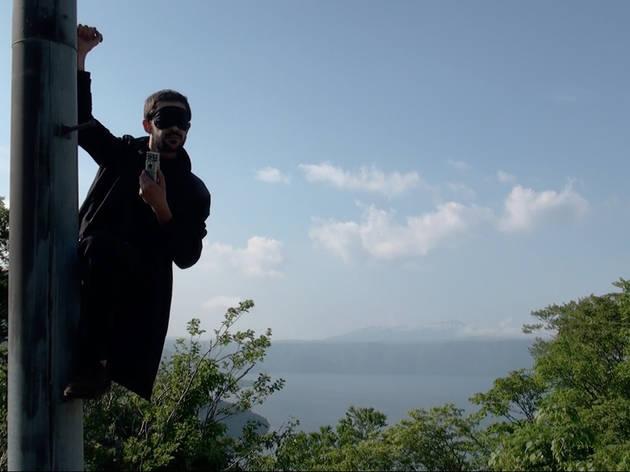 Benjamin Efrati ('Chercheur Aveugle' (vidéo), 2014 / ©Benjamin Efrati)