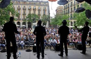 Girona, Temps de Flors. A Capella