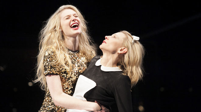 ...basking in Cate Blanchett's awesome glow: The Maids