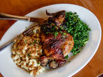 Roast Chicken Dinner at Sage General Store