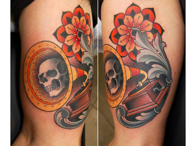 Time Out with tattoo artist Jim Sylvia of Unbreakable Tattoo