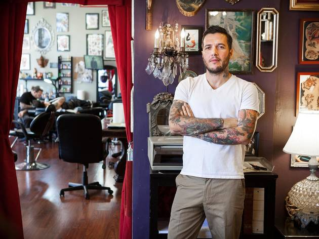 Marco Cerretelli of the Honorable Society Tattoo Parlour & Lounge