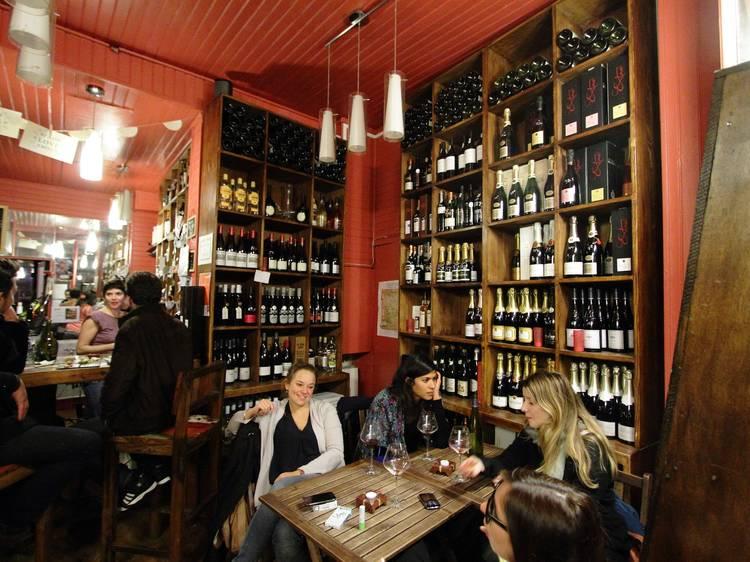 Les bars à vins : le top 10