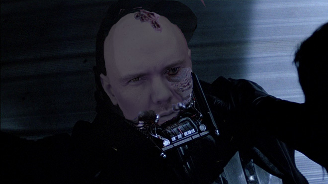 Billy Corgan as Anakin Pumpkinsmasher