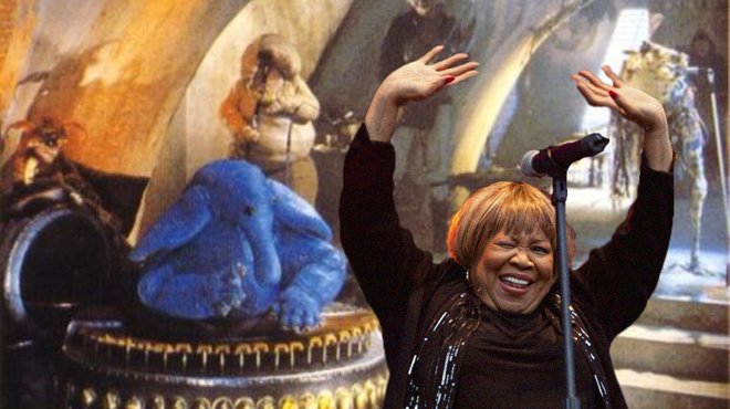 Mavis Staples as Sy Staples