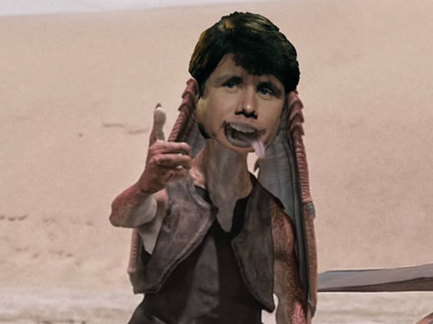 Rod Blagojevich as Jar Jar Blagojevich