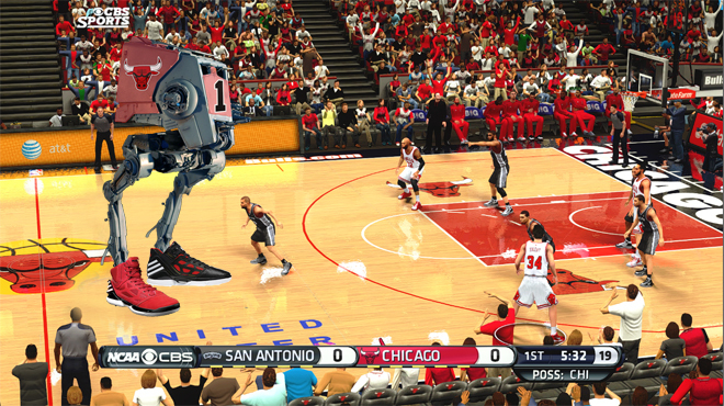 Derrick Rose as AT-DR1