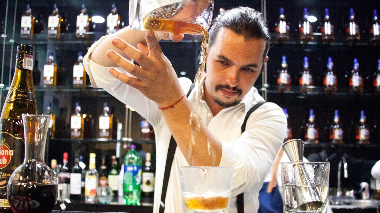 Philippe Zaigue. Bartender de Artemisia