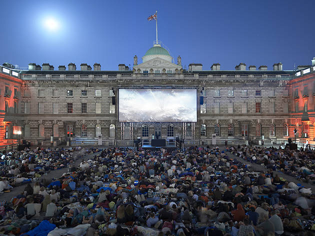 Outdoor cinema screenings
