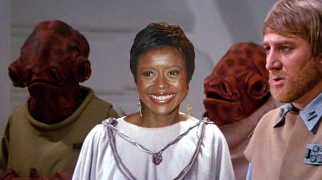 Mellody Hobson as Mell Mothma