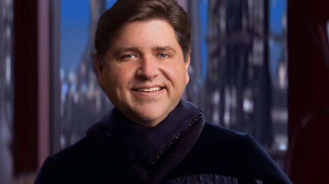 J.B. Pritzker as Senator Pritzkertine