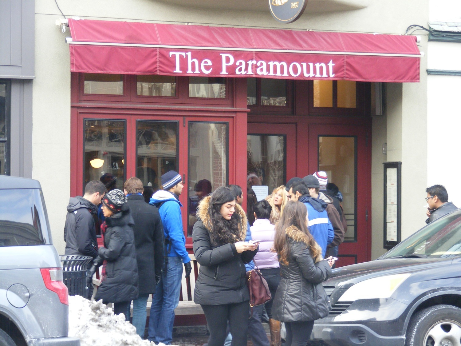 Paramount, Restaurants and cafes, Boston