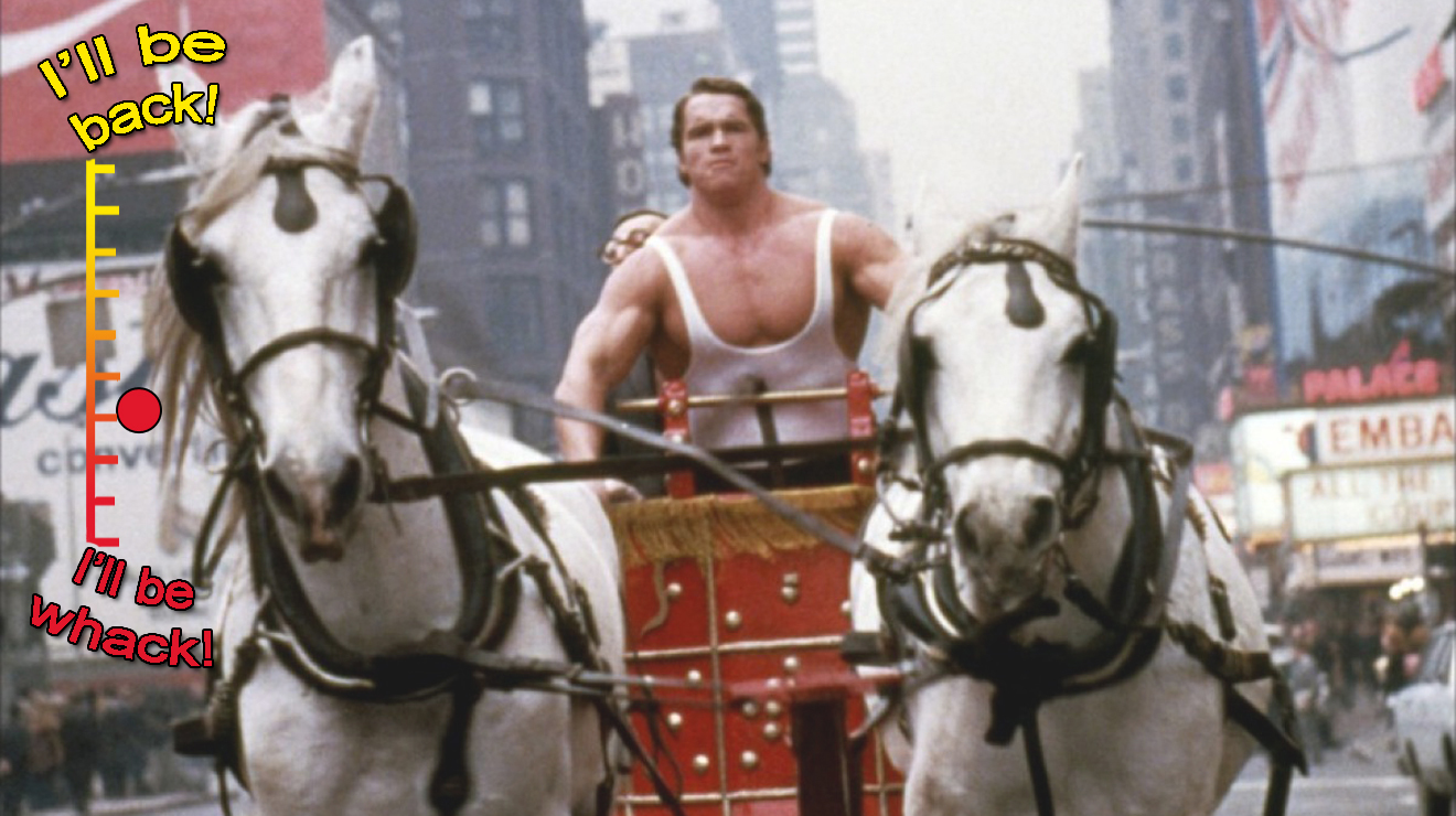The highs and lows of Arnold Schwarzenegger