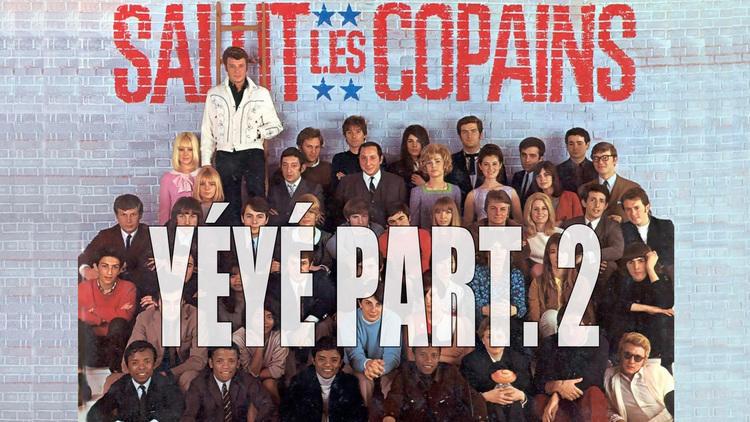 Les meilleures pochettes d'albums français dossier Yéyé partie 2