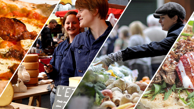 The best food markets in London