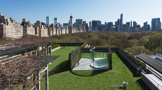 The Met rooftop installation