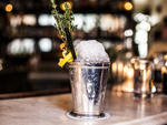 Spanish Crown Julep at Maison Premiere