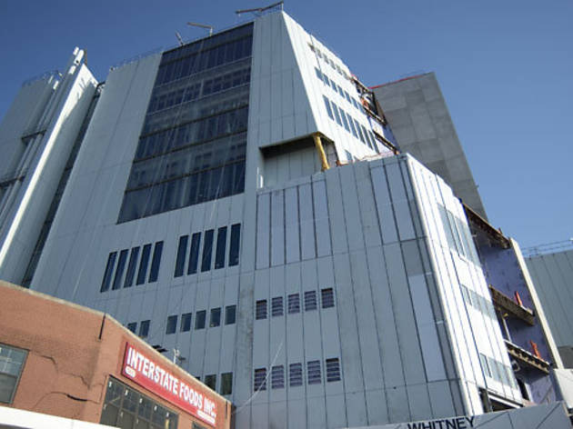Take a look at the Whitney Museum's new MePa home in progress