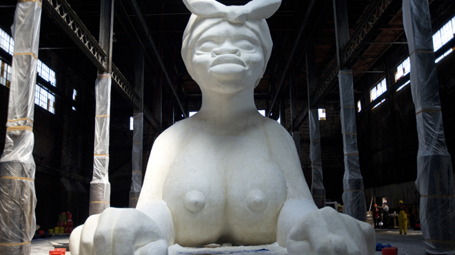"Kara Walker, ""A Subtlety or The Marvelous Sugar Baby"""