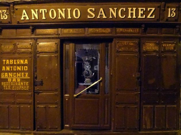 La Taberna de Antonio Sánchez