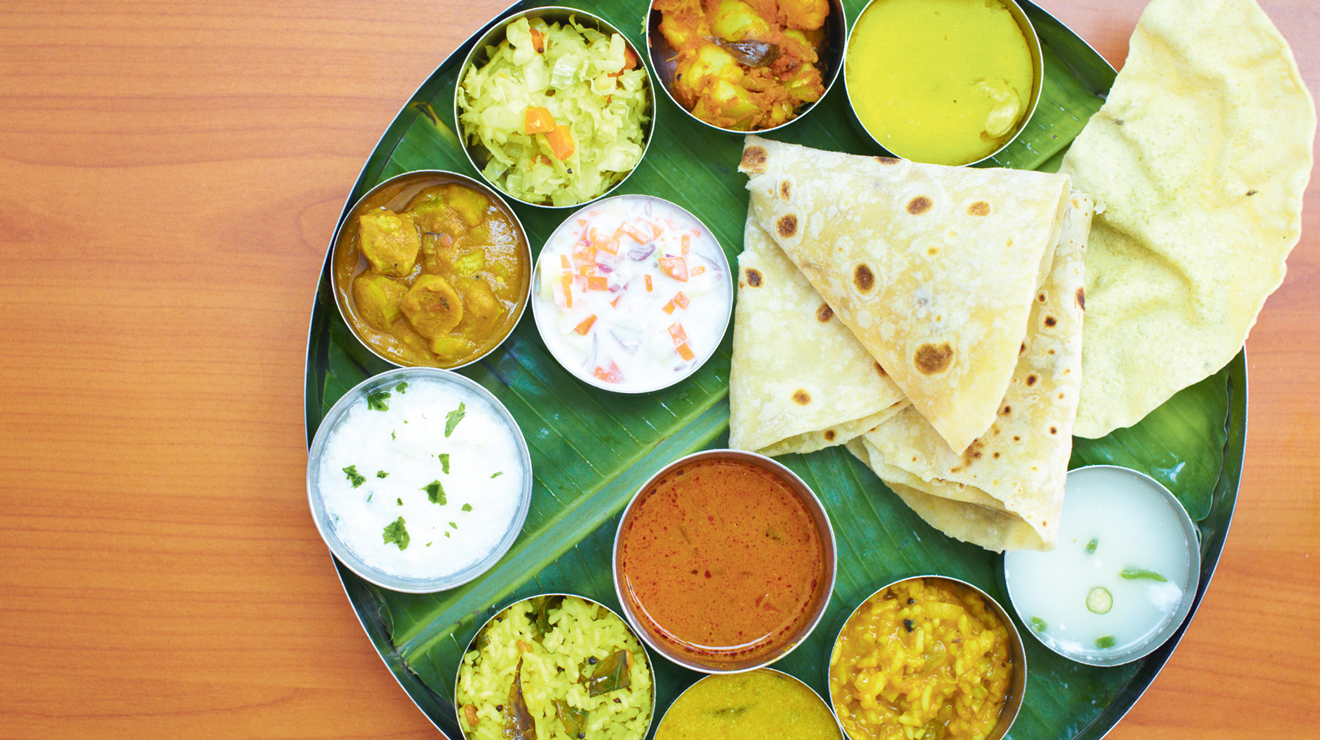 Thali at Bakti Woodlands, RM9.90