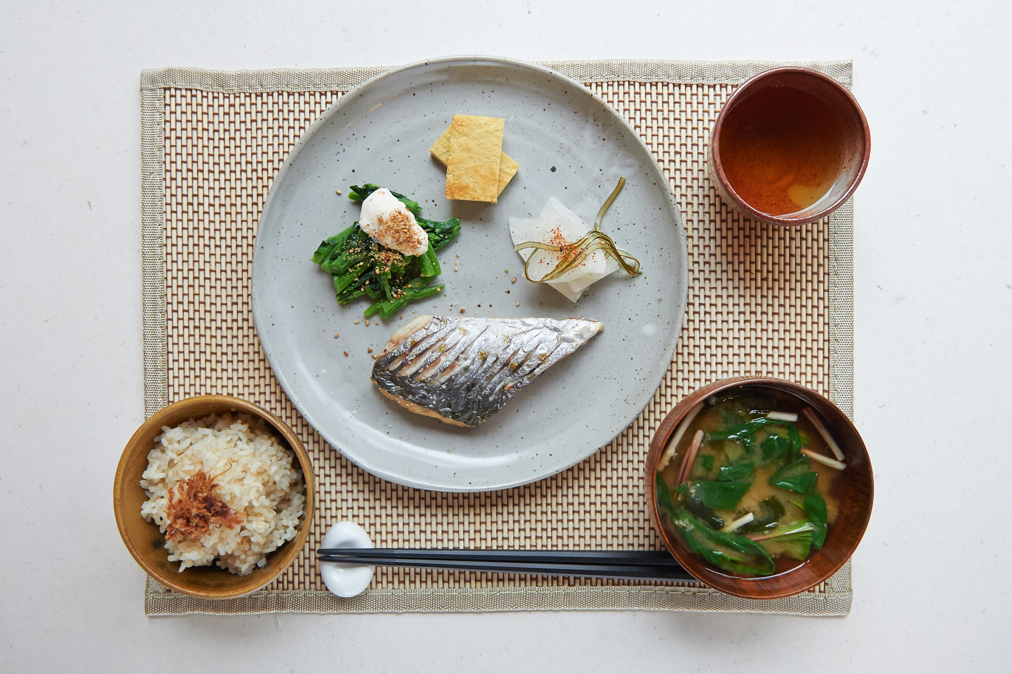 'Japanese Asagohan (Breakfast)
