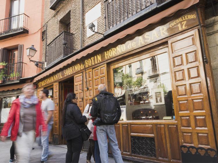 Comer en el restaurante más antiguo del mundo