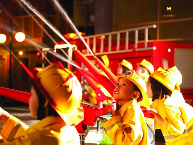 KidZania KL firefighters