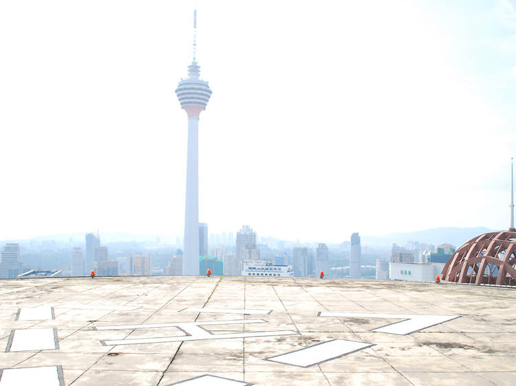 Jet up and party at Heli Lounge Bar, KL's first club on a helipad