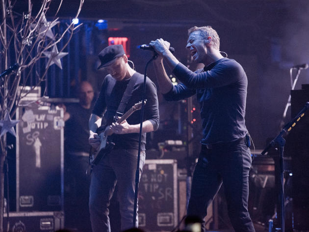 Coldplay at the Beacon Theatre