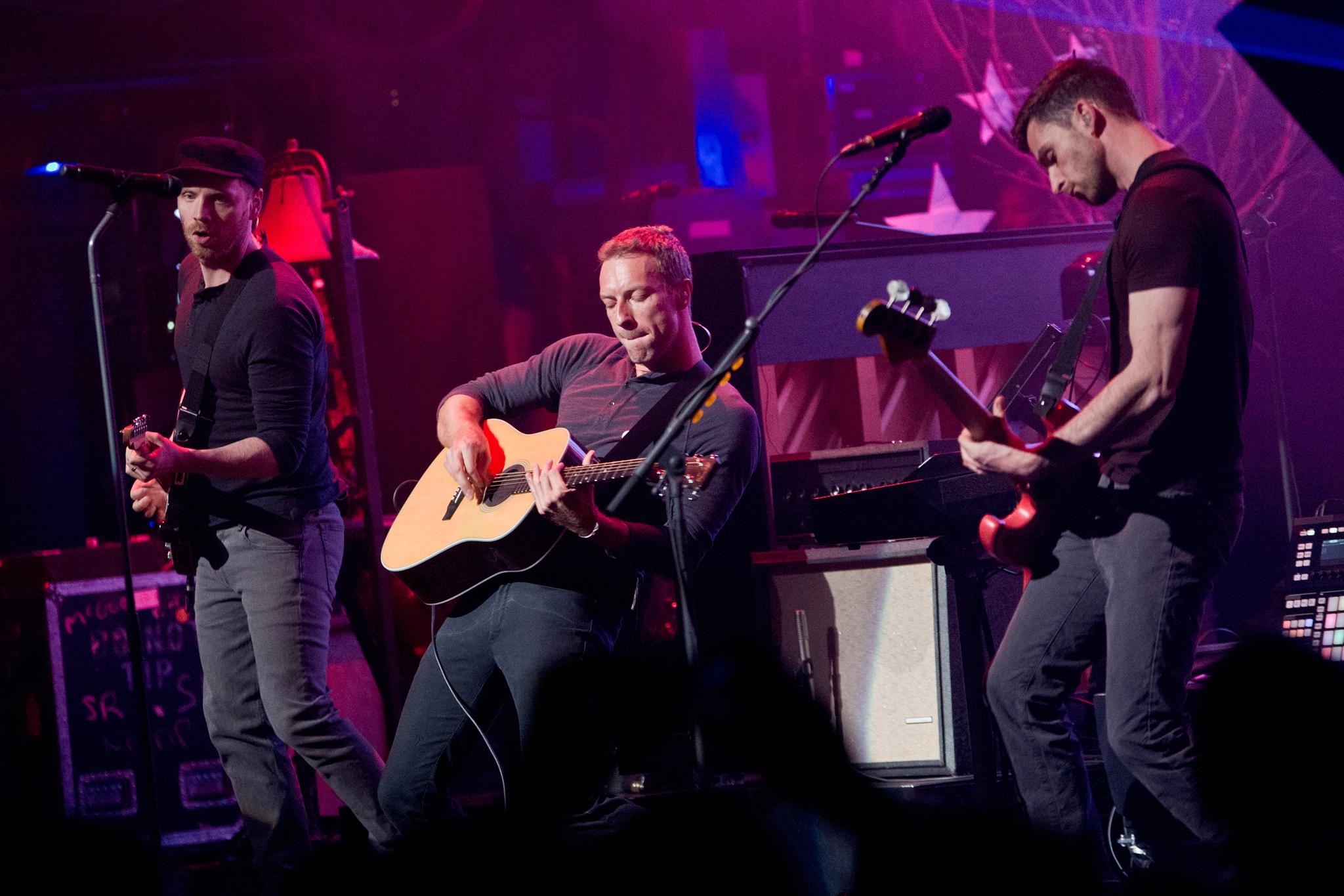 Coldplay at MetLife Stadium