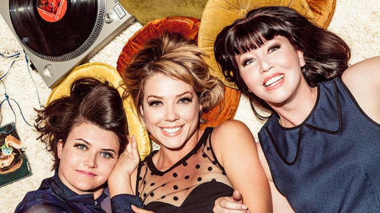 Radio Picture Show hosts Shauna McGarry, Lauren Cook and Marion Hodges.