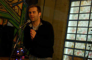 Jake Weisman performing at Two-Headed Beast